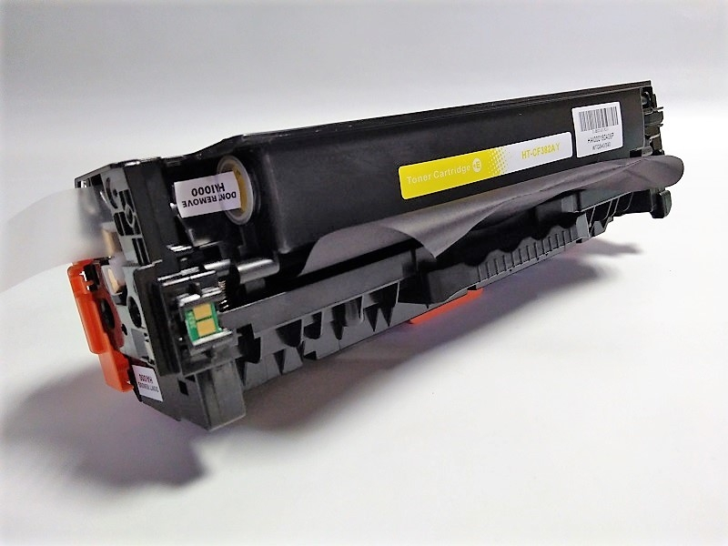 HP CF382A Yellow - Kompatibilní toner